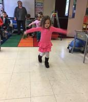 Balancing Ella!