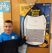 2nd Grade Success: Rocket Math Goal at 50% Completion