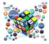 Social Media Rubik's Cube