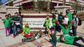 Psi Phi Beta Youth Step Team