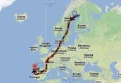 Da Suécia a Portugal sem um tostão!