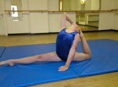 This is an example of flexibility
