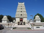 Malibu Temple (church for Hindu's)