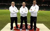 coaches for a sport team
