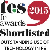 COLLEGE SHORTLISTED FOR TES FE AWARD