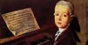Mozart de pequeño