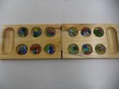 A typical Mancala board