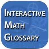 Interactive Math Glossary App