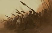 Spartans battle together