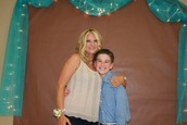 First of many mother-son banquets!