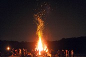 The Special Bonfire to Bond our friendships