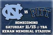 Special Deal on Carolina vs Pitt Game!!!!