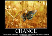 It's time for change!