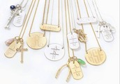 Engrave-able Necklaces
