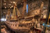 "Swedish Ship ""Vasa"" Sinks on her Voyage"