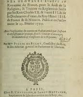 1563 the first war  and the edict of Amboise