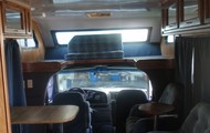 The overhead cab