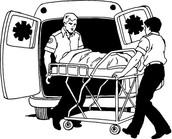 Emergency medical paramedics