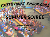MUSIC DEPARTMENT  Junior Summer Soirée