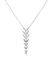 Arrow drop necklace $30