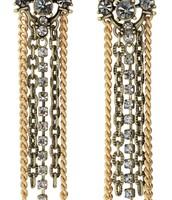 Cleo Fringe Earring -$25