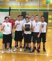 J.V. Boys Volleyball P.C.C. Tournament Champions