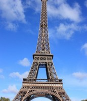 The Eiffel Tower at day