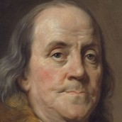 This is a picture of Benjamin Franklin