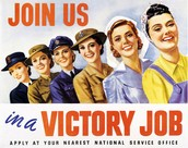 How did the dangerous jobs women did during WWII impact the Allies victory