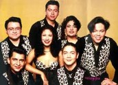 This is a picture of Selena y los dinos
