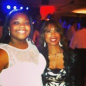My mom and I at prom my senior year of high school.
