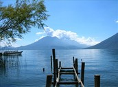 Dia 3...Martes 19. Viajamos al sagrado Lago de Atitlan.