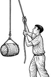 Example of a pulley