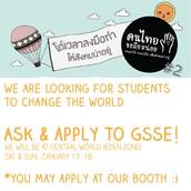 GSSE at Khon Thai Foundation Event