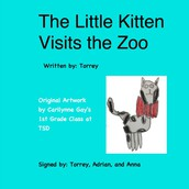 The Little Kitten Visits the Zoo