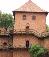 Copernicus's home and work place in Poland