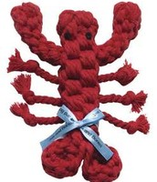 Louie The Lobster Rope Dog Toy