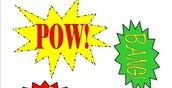 Thursday, May 5th-  SUPERHERO PASTA Luncheon #BOOM# #POW#