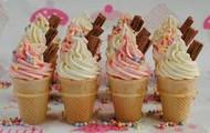 Pretty Ice Cream Cones