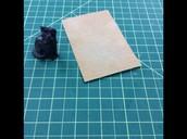 Printed fox--sanding to smooth base and ears