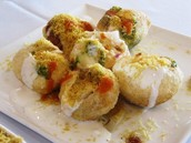 Try different Indian appetisers and Indian savouries at PAN Chaat Box