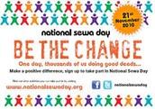 SEWA DAY BE THE CHANGE