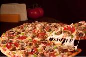 La pizza deluxe