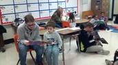 Reading to younger students