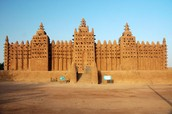 The Mud Mosque of Mali (Djenne)