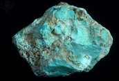 Mined Turquoise
