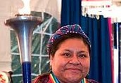 What Rigoberta  did after family died