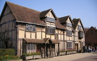 The house which William Shakespeare lived.