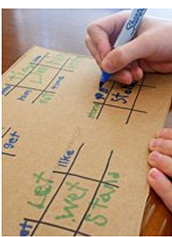Sight Word Tic Tac Toe/ Noughts and Crosses
