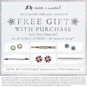 FREE Gift With $125 Purchase